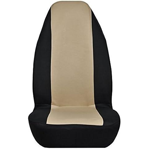 Sedile universale in poliestere, panno, protezione per