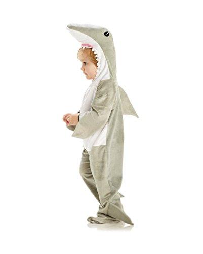 Hai Kindekostüm als Faschingskostüm für Kleinkinder S (Hai Kostüme Für Kleinkinder)