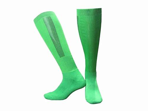 WENSISTAR Scarpe da pallavolo da Uomo,Calze Sportive da Calcio Lunghe da Uomo per la Corsa Professionale @ Green,Attrezzatura da Baseball