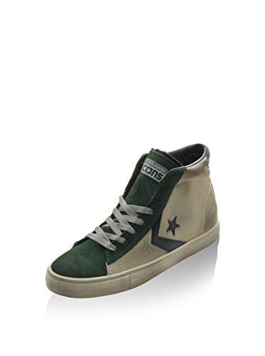 Converse Pro Leather Vulc Mid Suede, Baskets Basses Mixte Adulte beige - Beige