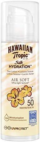 Hawaiian Tropic Silk Hydration Air Soft Lotion Pump SPF50-150ml