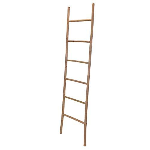Regalos Miguel - Escalera Toallero - Toallero Ban de Bambu 117 x 40 x 45cm