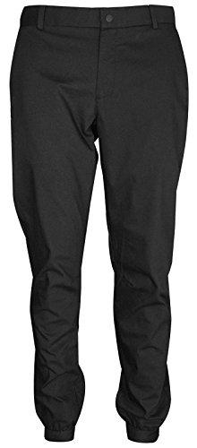 Nike Herren Flex Jogger Hose, Black/White, 32 (Nike Golf Hosen)