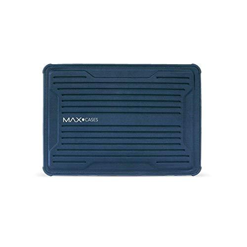 0.75 Hp Air (Max Cases Rugged Laptop Sleeve/Notebook Sleeve - MacBook Air 13, MacBook Pro 13, MacBook 12, iPad Pro 12.9, MS Surface Pro 3/4, HP X2-1012, TP 12.5 - Magnetverschluss, Schwarz blau blau)