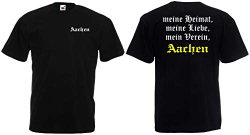 Aachen Herren T-Shirt Meine Heimat, Mein Verein