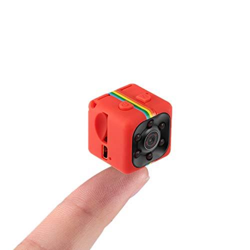 Sansnail SQ11 Mini Kamera 1080P Full HD Spion Kamera Nachtsicht Camcorder Motion Detection Voice Video Recorder(Rot)