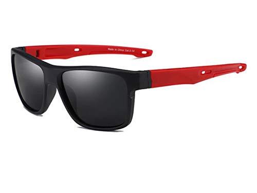 Männer-Sonnenbrille Polarisiert Sport Gläser Auto Fahren Baseball Golf Sonnenbrille Schwarze Männer Und Frauen Farbe Optional,Red
