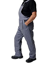 34b47775683 Road Master Bib and Brace Dungaree Overalls Painters Suit For Decorators  Builders