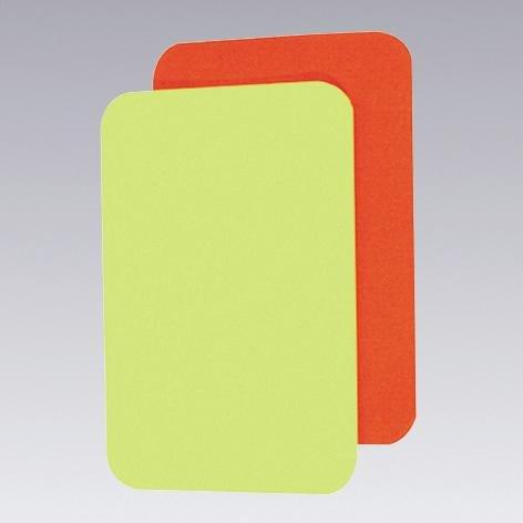 Pro Touch Schiri-Karten Set Schirikarten, Rot/Gelb, One Size (Fußball-schiedsrichter-schuhe)
