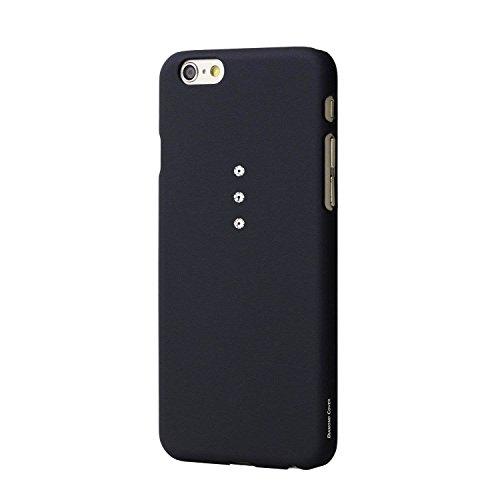 Diamond cover elegance swarovski elements per apple iphone 6 nero