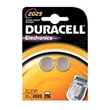 Brand New. Duracell DL2025 Battery Lithium for Camera Calculator or Pager 3V Ref 75072667 [Pack 2]