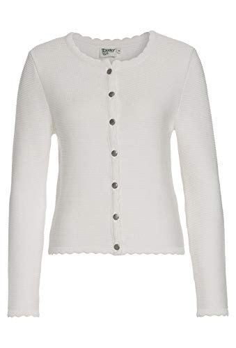 Distler Original Trachtenjacke für Damen weiß,36