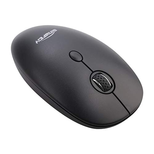 Optische Maus, kabellos, 3 Tasten, 2,4 GHz, 1600 DPI, für PC/Laptop