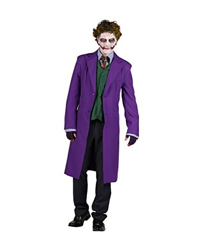 Horror-Shop Deluxe Kostüm Joker Anzug mit Weste für Halloween, Fasching & Cosplay XL (Joker Halloween)