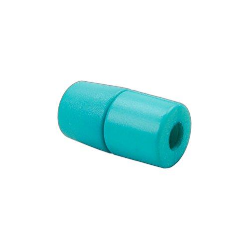 PARACORD PLANET abtrünnigen Lanyard Pop Hohlstecker-Mehrere Farben-Ideal für Lanyards, Ketten, Armbänder, ID Buttons und Mehr, Türkis, 5 Pack