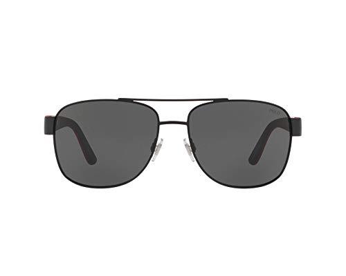 Ray-Ban Herren 0PH3122 Sonnenbrille, Braun (Matte Black), 59.0