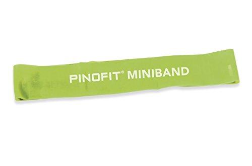 Pinofit Miniband 44654 Gruen stark breit 33 x 5 cm incl. Gratis Bienenwachs-lederbalsam 50ml