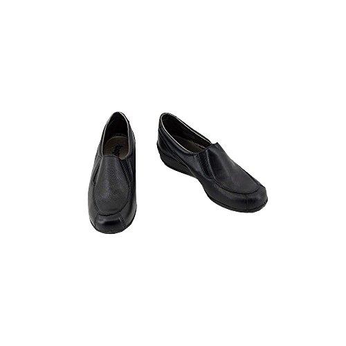 Dany - Mocassins Noir Confort Compensé - Bopy C-Noir