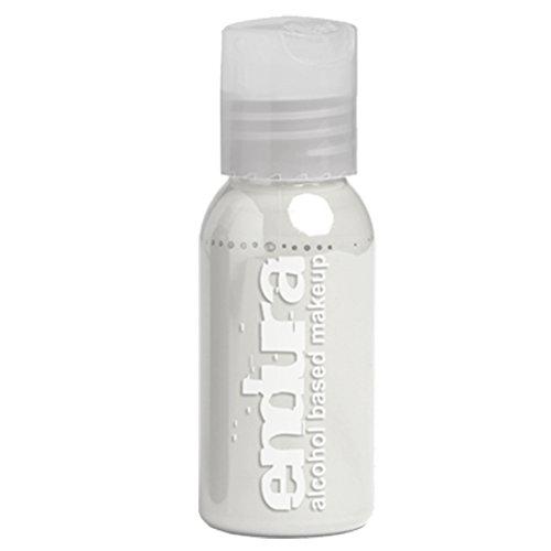 European Body Art Endura Alkohol basierte Airbrush Tinte - Weiß (1 Unze)