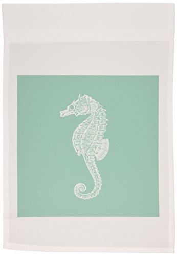 _ 1Blaugrün Seepferdchen in blau Sea Horse Ocean Marine Strand Aquarium Wasser-Garten Flagge, 12von 18 (Aquarium Sea Horse)