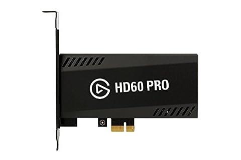 Elgato Game Capture HD60 Pro - Streamen und aufnehmen in 1080p60, Low Latency-Technologie, H.264 Hardware-Encoding,