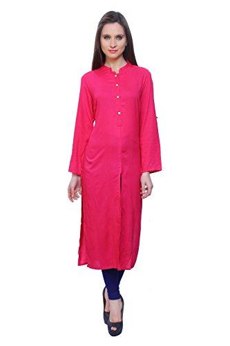 Kurti's Cotton Embroidered kurtis for kurtis In For & Girls