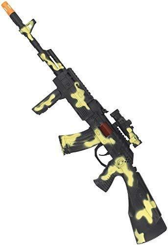 Fancy Me Spielzeug Pistole Tarnfmuster Militär Rifle Soldaten Armee Wunderland See Luft Karneval Festival Kostüm Spass Waffe Zubehör Requisit