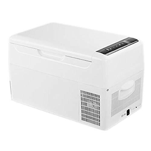 Elektrischer Kühler und wärmerer Autokühlschrank Autokühler für Autoreise 12 V DC Tragbarer Mini-Kühlschrank Leiser Betrieb Kühler für LKW-Fahrer (Rv Storage Box)