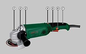Meuleuse d'angle angulaire 125 mm 1010 Watt; vitesse réglable - Outils Électriques DWT Swiss AG / WS10-125TV