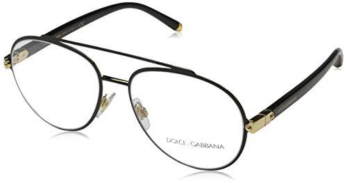 Ray-Ban Damen 0DG1303 Brillengestelle, Schwarz (Gold/Black), 55
