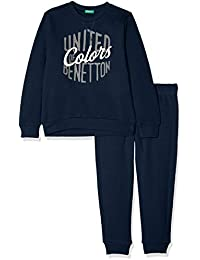 United Colors of Benetton Set Sweater+Trousers, Conjunto para Niños (Pack de 2)