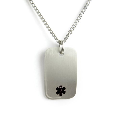 myiddr-blood-thinners-medical-alert-dog-tag-necklace-stainless-steel-pre-engraved-black