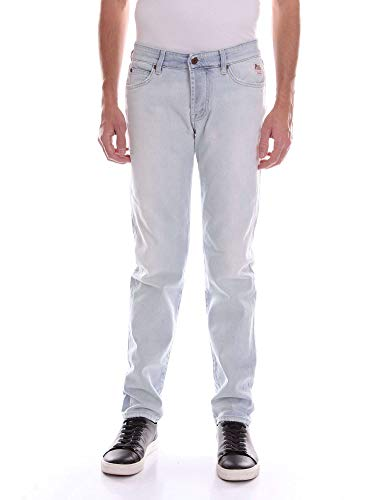Roy Rogers P18RIU000D0080876 Jeans Uomo Jeans Chiaro 35 6124be9340d
