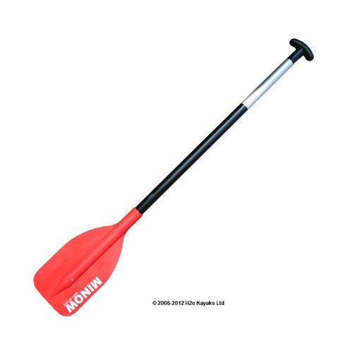 Red Sports Minow Childs 106cm Canoe Paddle