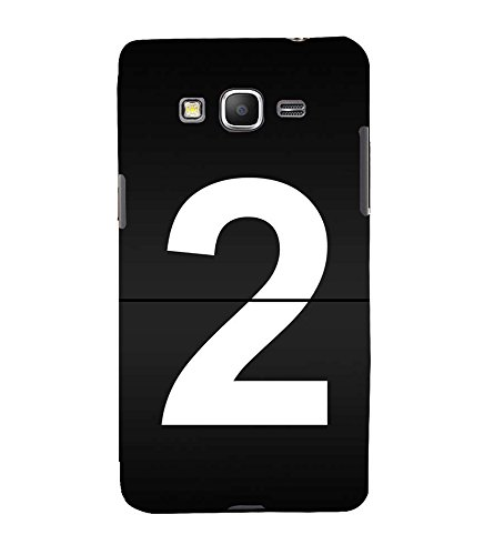 No 2 3D Hard Polycarbonate Designer Back Case Cover for Samsung Galaxy Grand Prime :: Samsung Galaxy Grand Prime Duos :: Samsung Galaxy Grand Prime G530F G530FZ G530Y G530H G530FZ/DS  available at amazon for Rs.347