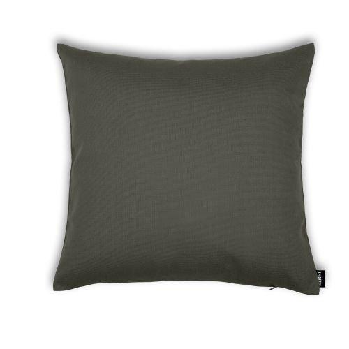 Outdoor Kissenhülle Classline UNI 50x50 cm, 23 Farben, wasserabweisend, schmutzabweisend, lichtecht, Original APART grau Farbe Schiefer