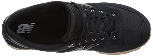 New Balance ML574 D, Baskets mode homme Noir (Black)
