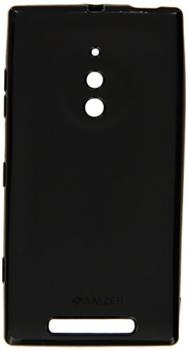 Amzer 97459 Pudding TPU Case - Black for Nokia Lumia 830  available at amazon for Rs.449