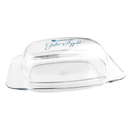 Beurrier 6095 Lantelme avec couvercle - En plastique transparent