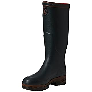 Aigle PARCOURS 2 ISO, Unisex Adults' Wellington Boots, Green (Bronze), 6 ½ UK (40 EU)