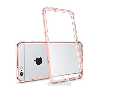 Cocomii Modern Armor iPhone 6S Plus/6 Plus Hülle [Kristallene Klarheit] HD Anti-Vergilbung Antikratzbeschichtung Transparent Case Schutzhülle for Apple iPhone 6S Plus/6 Plus (Mo.Crystal Pink) (I Plus Protector Phone 6 Shield)