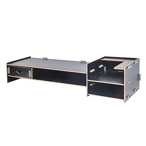 MMM Computer Monitor Ständer Schreibtisch Oberfläche Regal LCD Display Base Support Bracket Tastatur Finishing Aufbewahrungsschrank Verdickung 5mm Platte Stabil und langlebig - Elemente Große Platte
