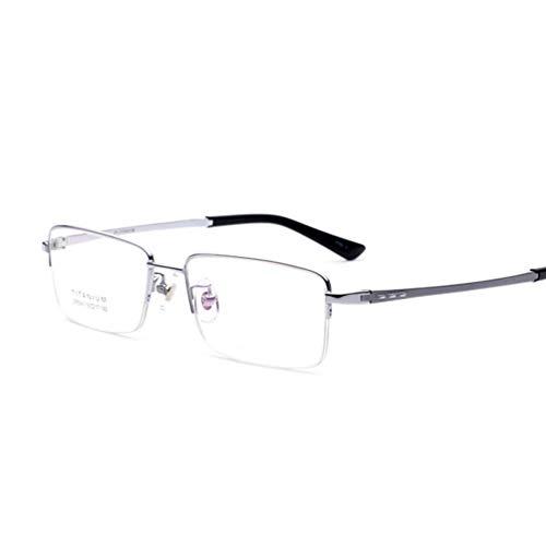 Anti-Glare Anti-Fatigue,Beobachten Sie Mobile Brillen,Entlastung der Augen vor Müdigkeit,Computer Lesen Eyewear,Brillengestell aus Titan mit leichtem Rahmen und ohne nasale Anti-Blau-Brille,Glasses A -