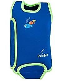 SwimBest Baby Wetsuit/Baby Warmer wrap Keeps Baby Warm in Water Girls & Boys - 0-6, 6-12 & 12-24 Months