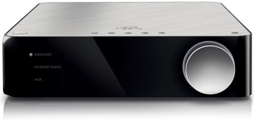 Philips Fidelio A2 (AW2000/10) Wireless HiFi Receiver ohne Lautsprecher (2x 50 W Leistung, Internetradio, Spotify) schwarz