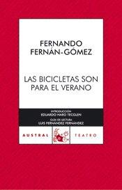 Las bicicletas son para el verano (Narrativa) por Fernando Fernán-Gómez