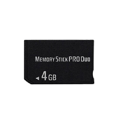 Memory Stick Pro Duo (4 GB, für Sony PSP 1000/2000/3000 Spiel) 4 Gb Duo