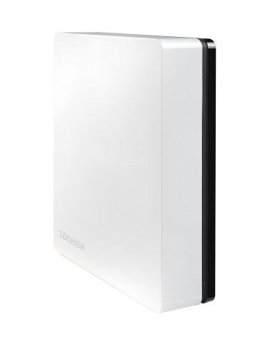 Toshiba Canvio Desk 2TB Desktop Hard Drive 3.5 Inch USB 3.0 - Black & White - HDWC120EW3J1