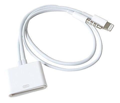 Zac Tech Blitz 8 Stift zu 30 Stift Dock Docking Bahnhof Lautsprecher Kabel Konverter für iPad Air iPod Nano iPhone 5 5C 5S 6 6S 6 Plus und 6S plus