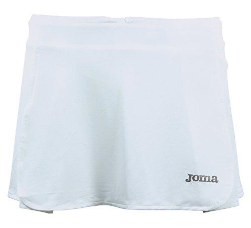 Joma Open - Falda para mujer, color blanco, talla S
